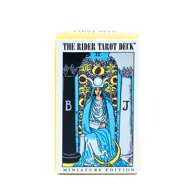 The Rider Tarot Deck - Miniature Edition