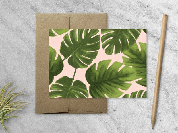 Monstera Notecards  - Boxed Set of 8