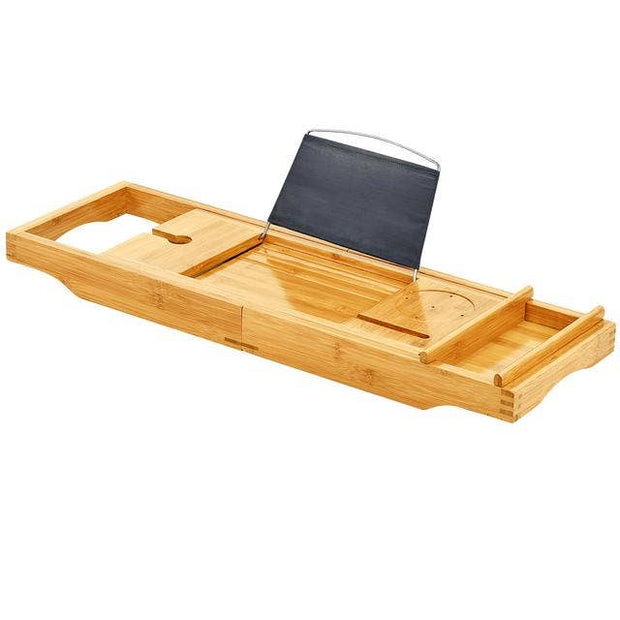 Bamboo Deluxe Bath Caddy