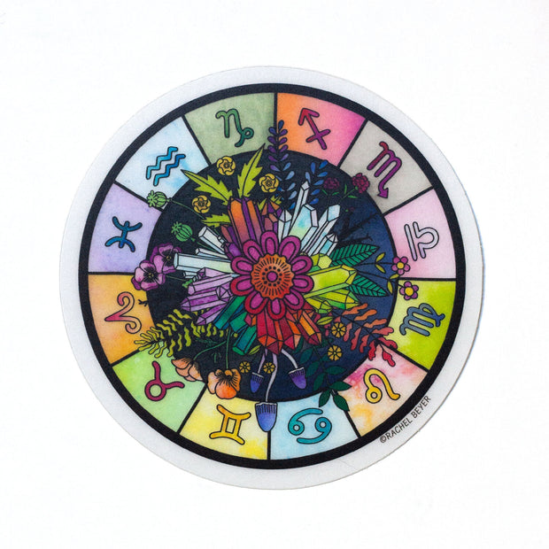Astrology Wheel Sticker