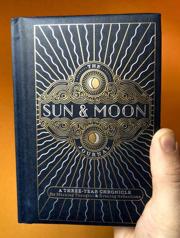 Sun & Moon Journal: A Three-Year Chronicle - USED