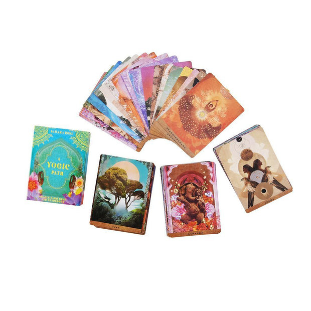 A Yogic Path Oracle Deck & Guidebook by Sahara Rose