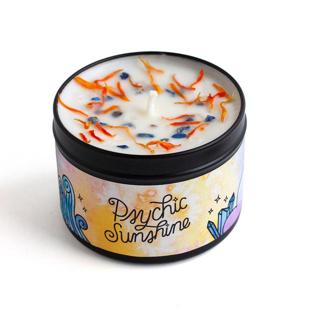 Psychic Sunshine Magic Candle by Rachel Beyer
