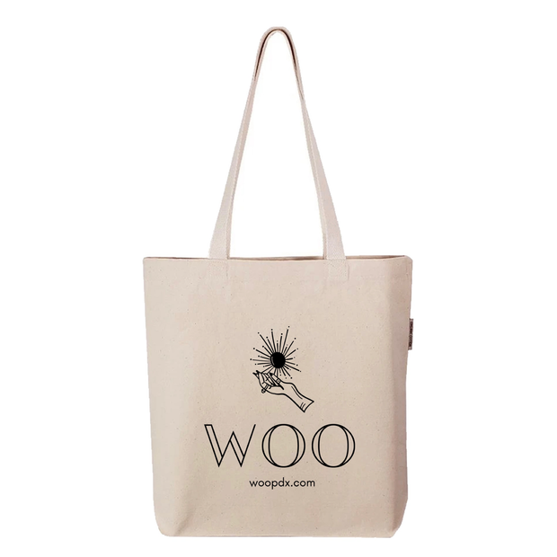 WOO PDX Canvas Tote Bag