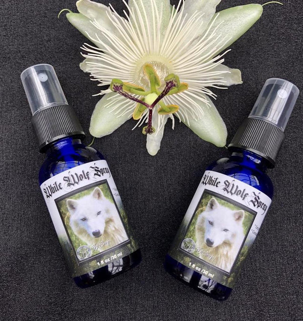 White Wolf Botanical Room & Body Spray by Enchanted Wildcraft