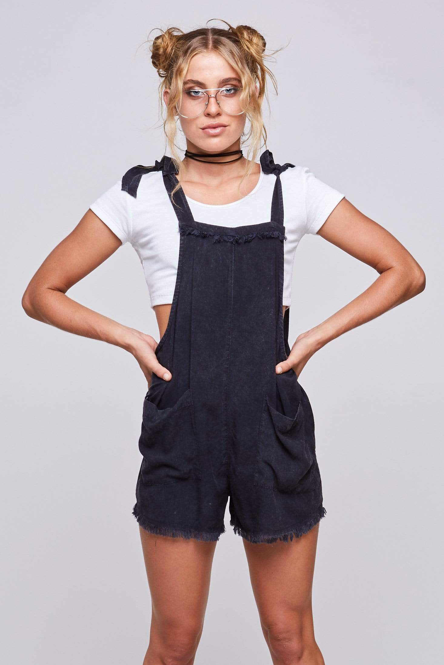 Jane Dungarees - Jumpsuit - LOST IN PARADISE