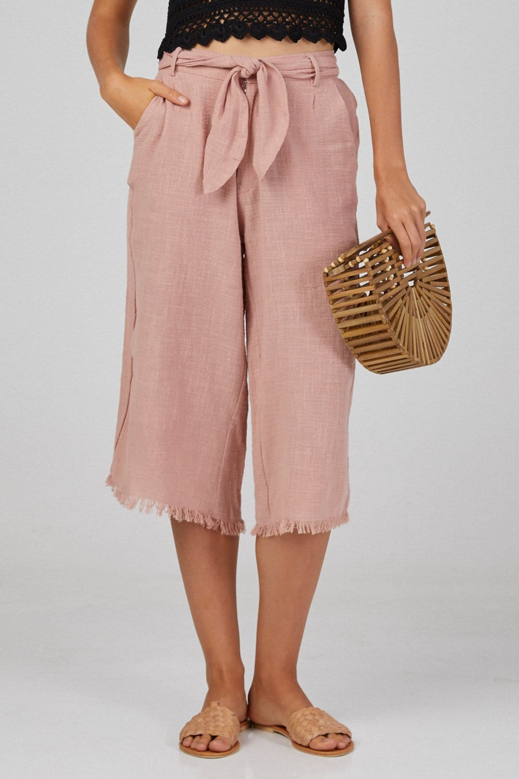 Raff Wide Pants - Woman Pants - LOST IN PARADISE