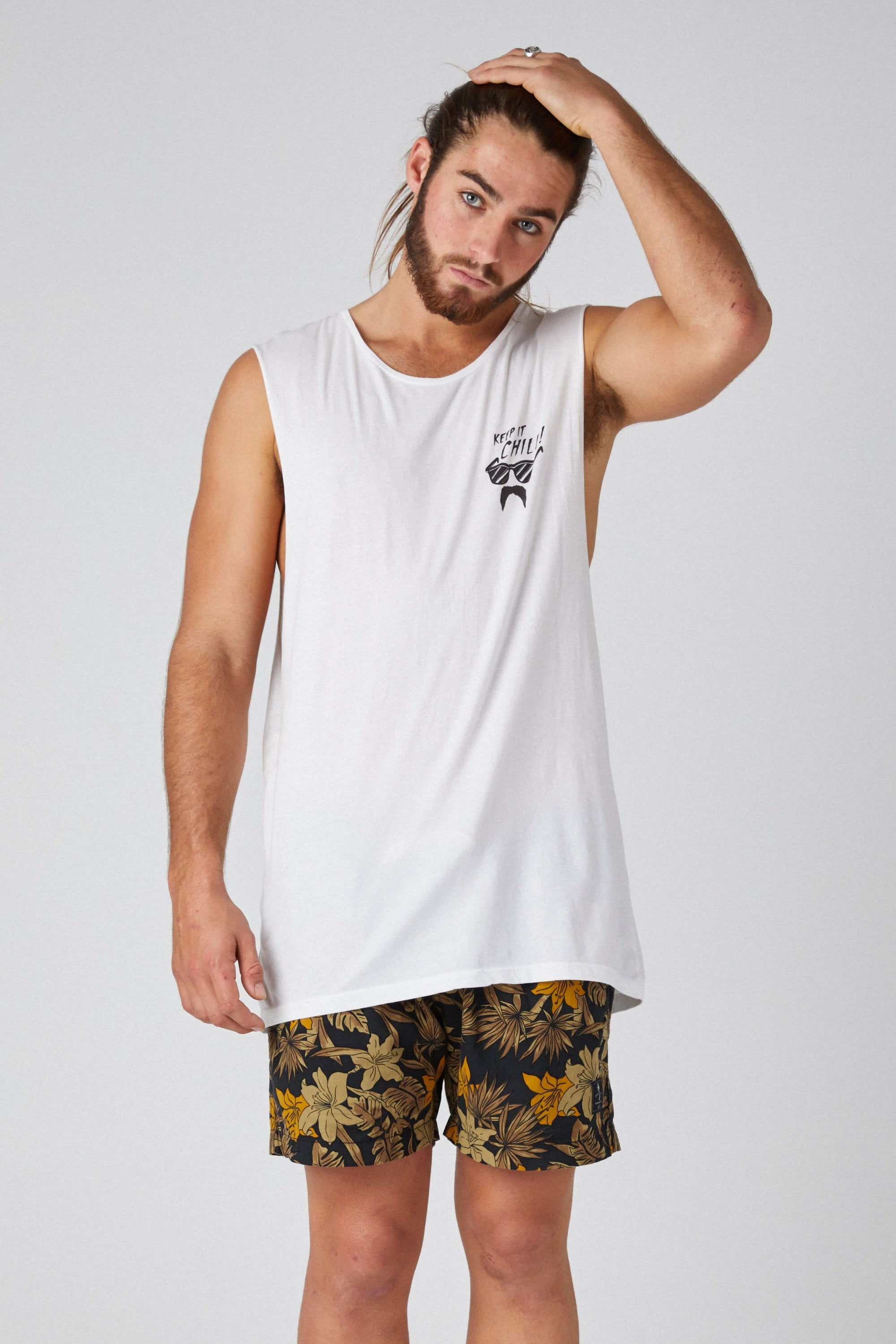 Sm Keep It - Mens Muscle Tank - LOST IN PARADISE