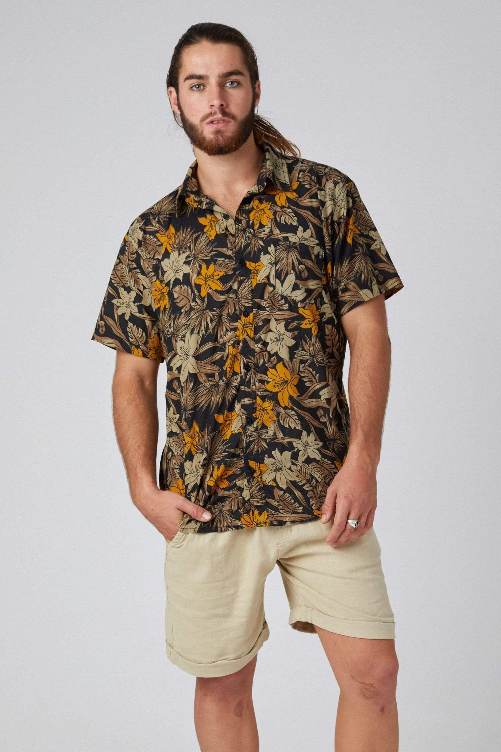 Abroha - Man Shirt - LOST IN PARADISE