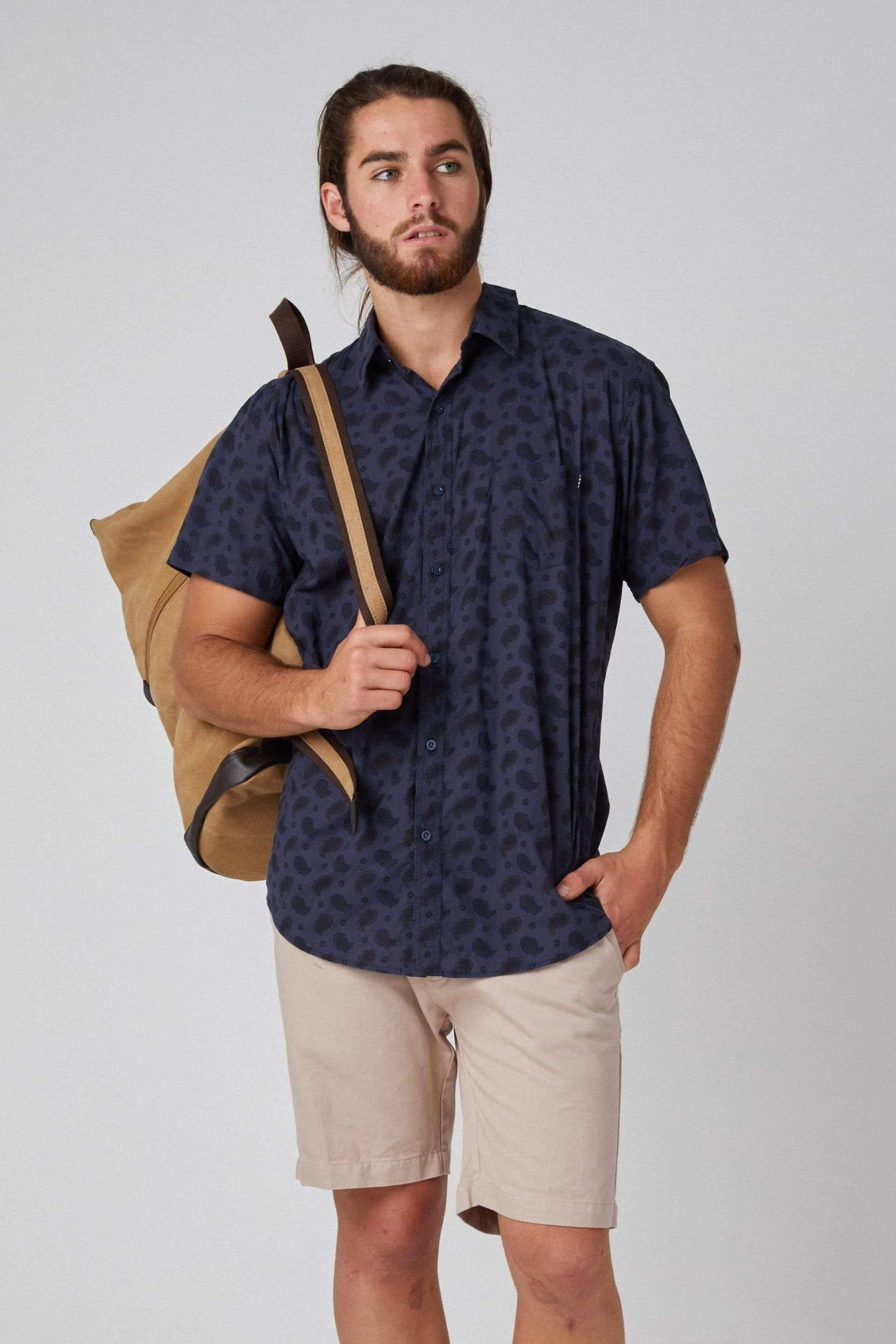 Blue Paisley - Man Shirt - LOST IN PARADISE