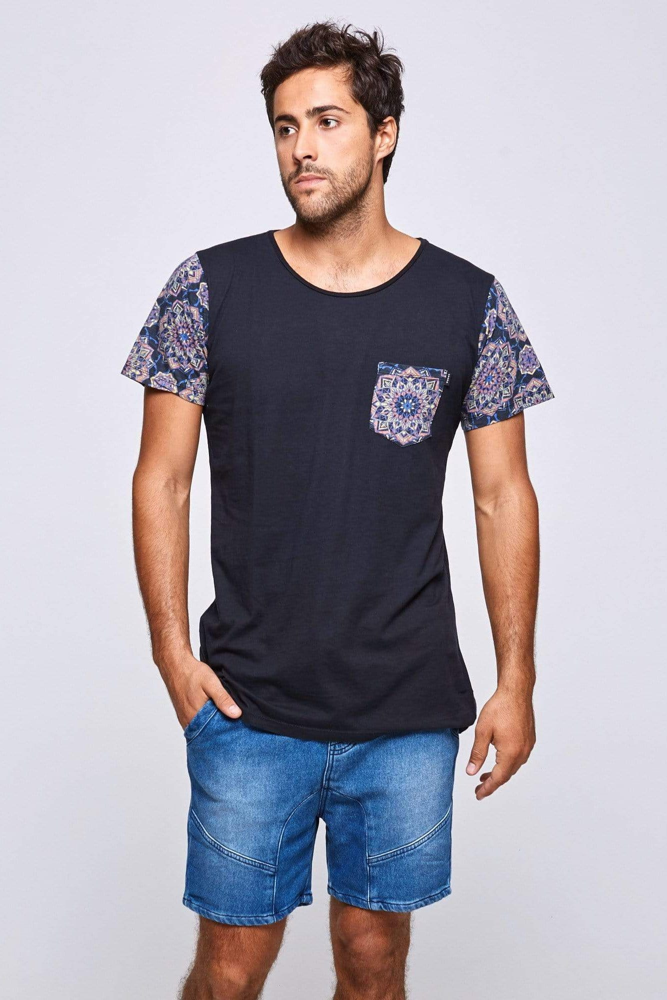 Ctzn Tee Mandalas Pocket - Man T-Shirt - CITIZENS