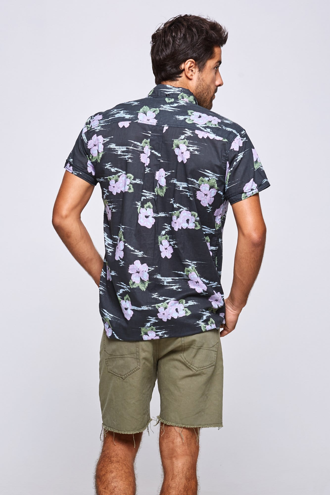 Flower Cloud Shirt - Man Shirt - LOST IN PARADISE