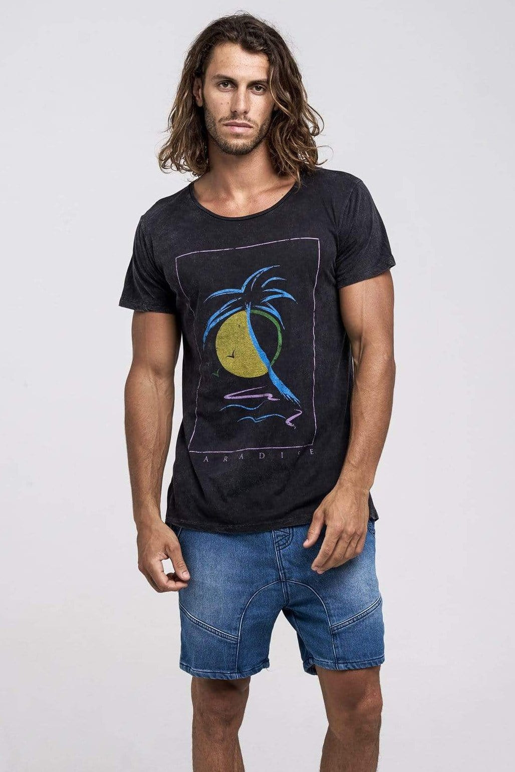 Solomoon Tee - Man T-Shirt - LOST IN PARADISE