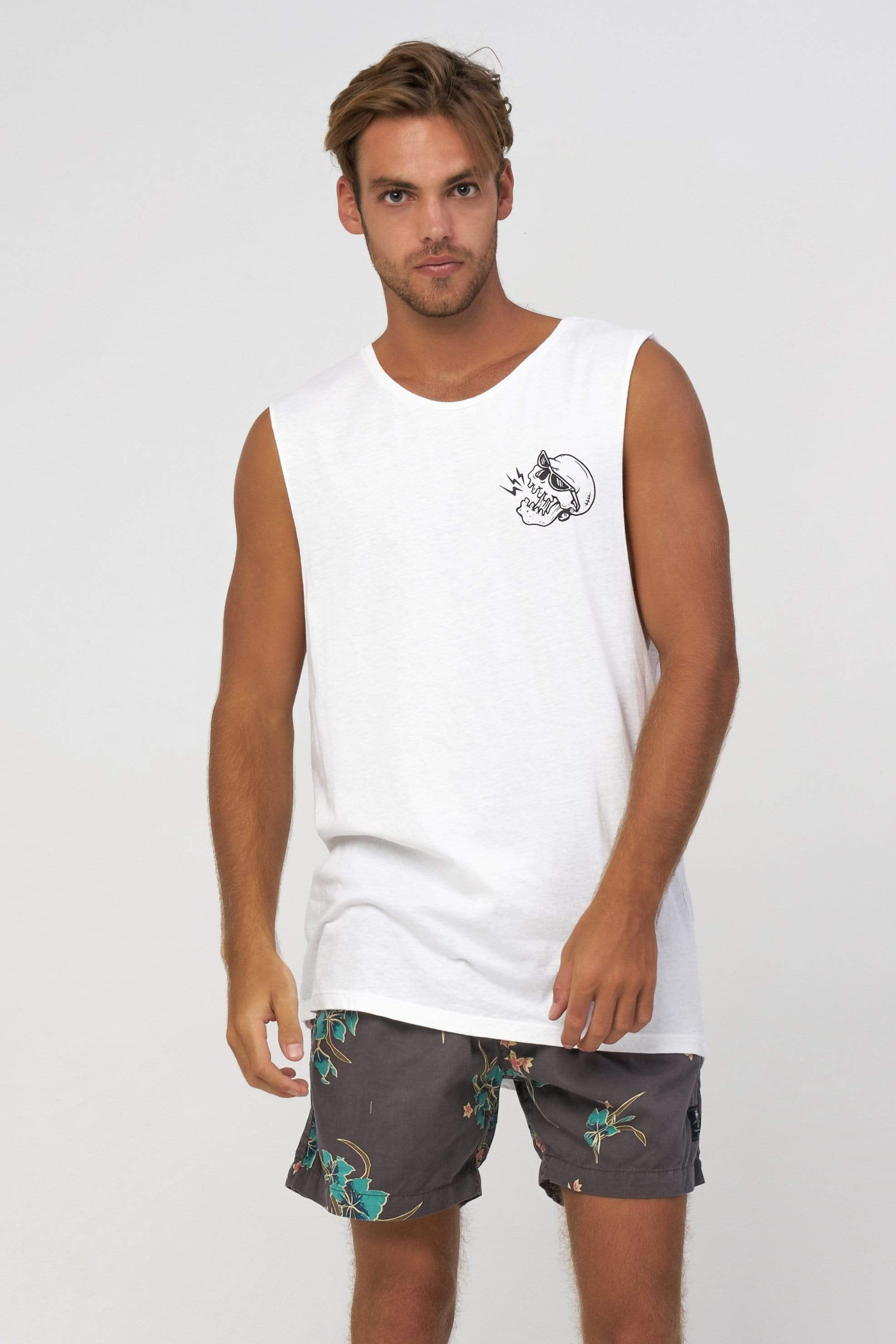 Sm Tropocalypse - Mens Muscle Tank - LOST IN PARADISE