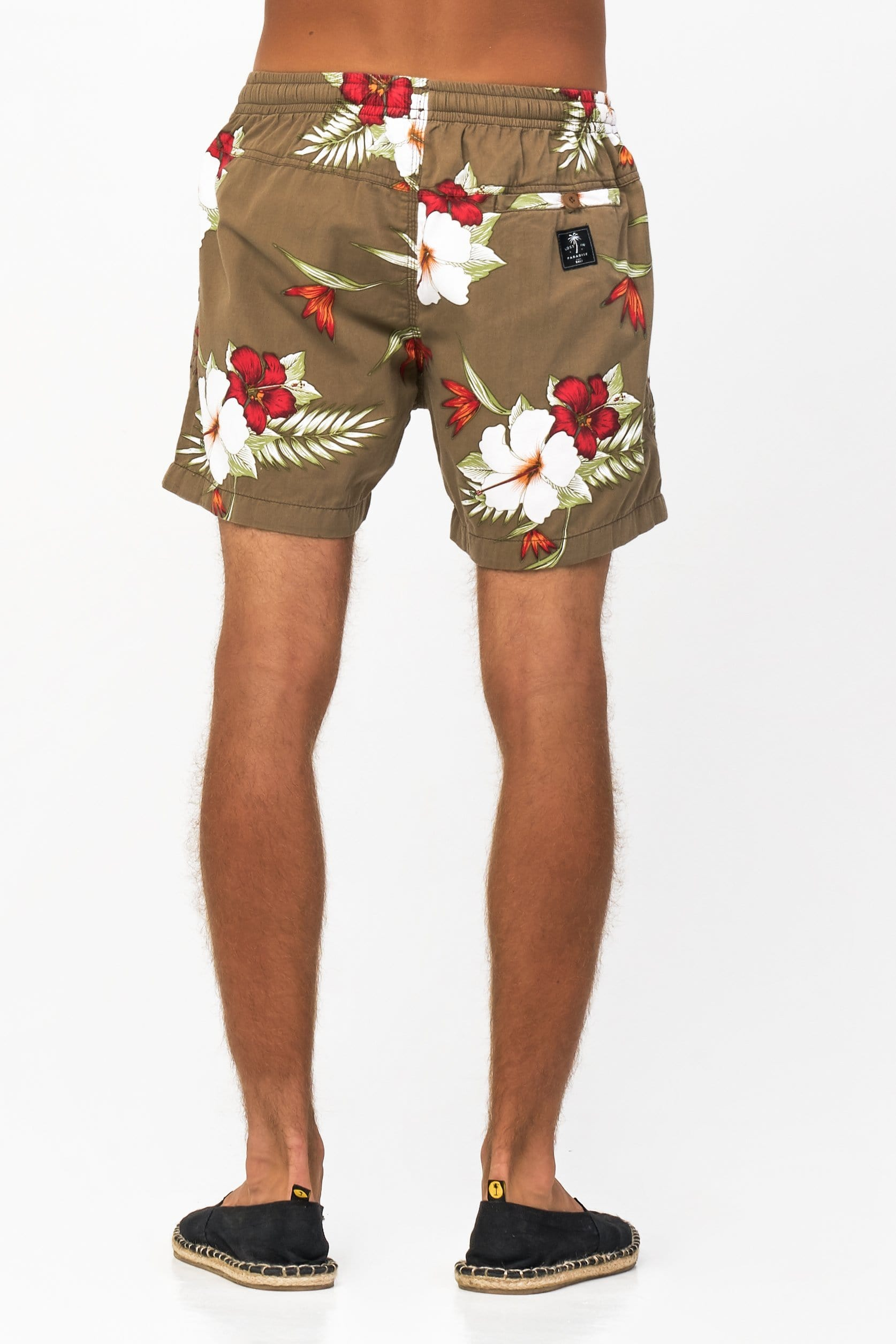 Hibiscus Short - Man Short - LOST IN PARADISE