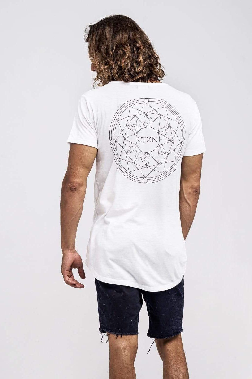 Ctzn Tee Sun Star - Man T-Shirt - CITIZENS