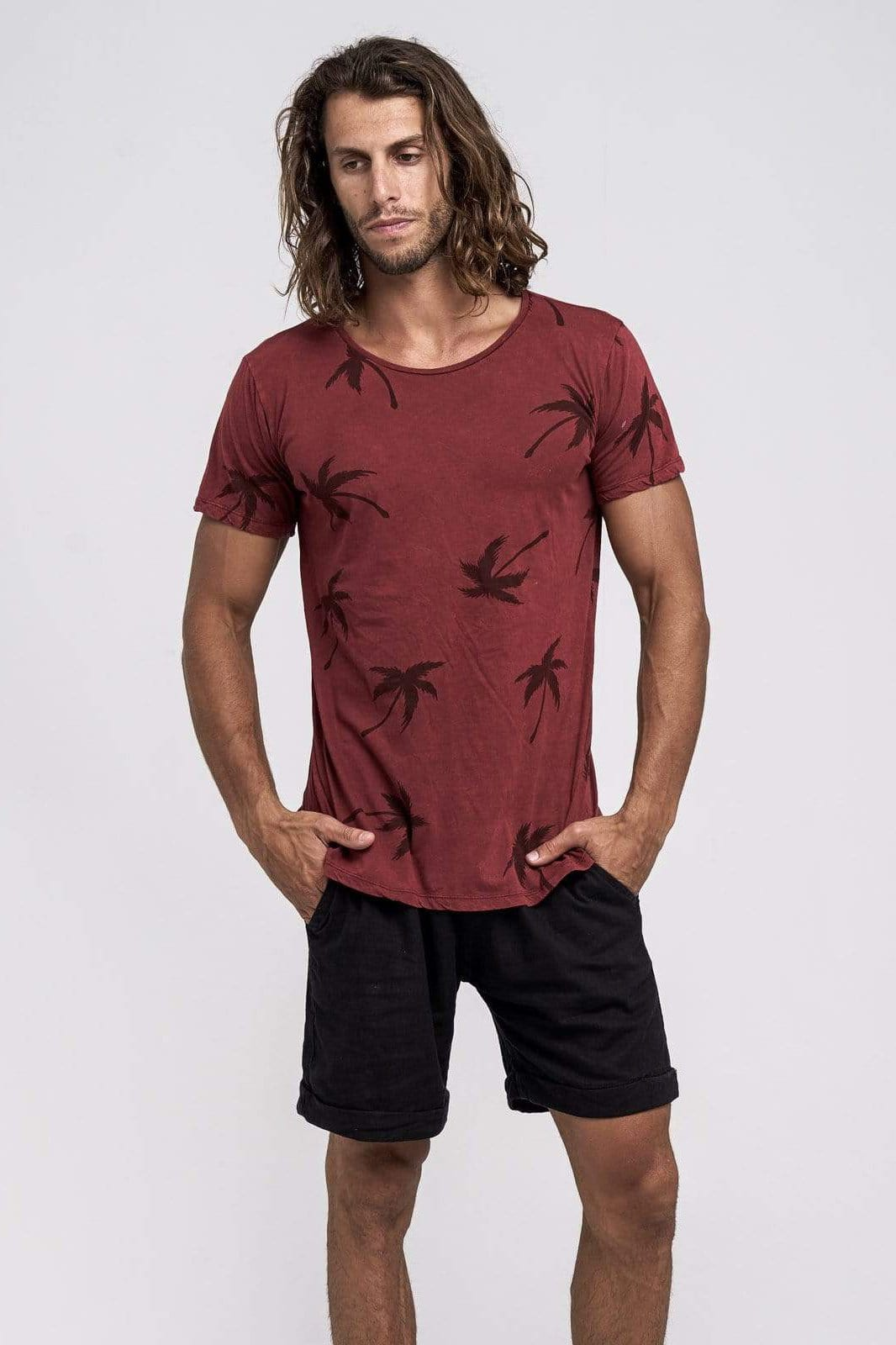 Palm Tee - Man T-Shirt - LOST IN PARADISE