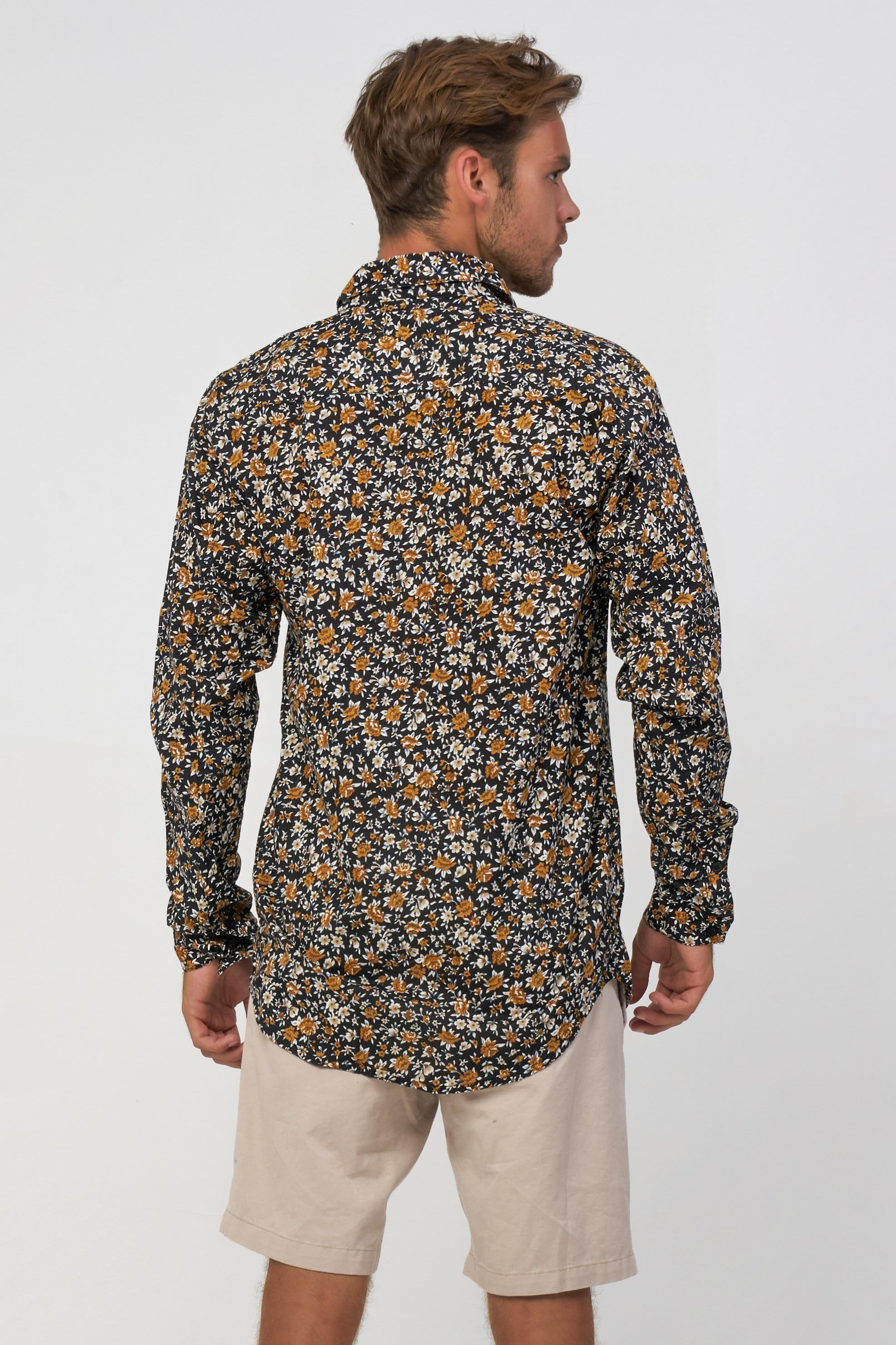 Flower Shirt - Man Shirt - LOST IN PARADISE