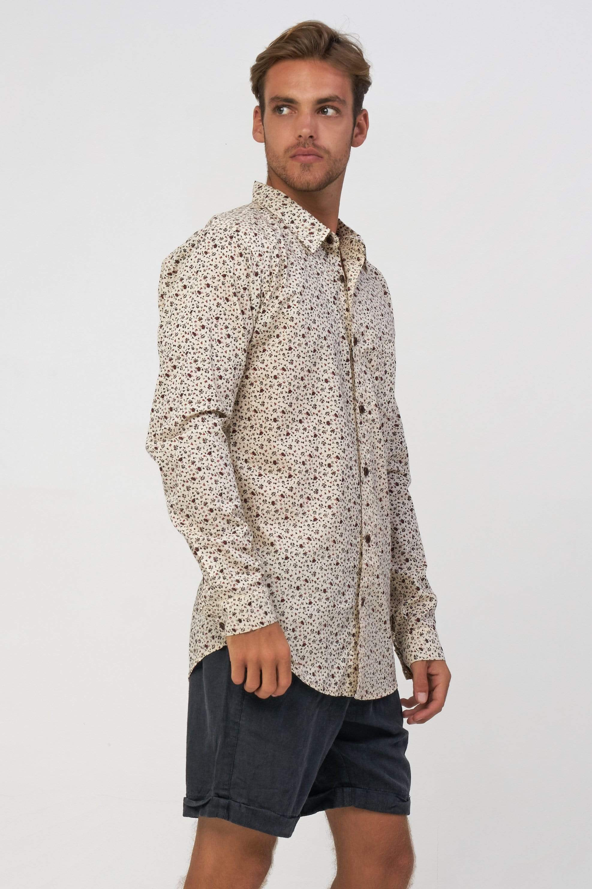 Passo Shirt Ls - Man Shirt - LOST IN PARADISE