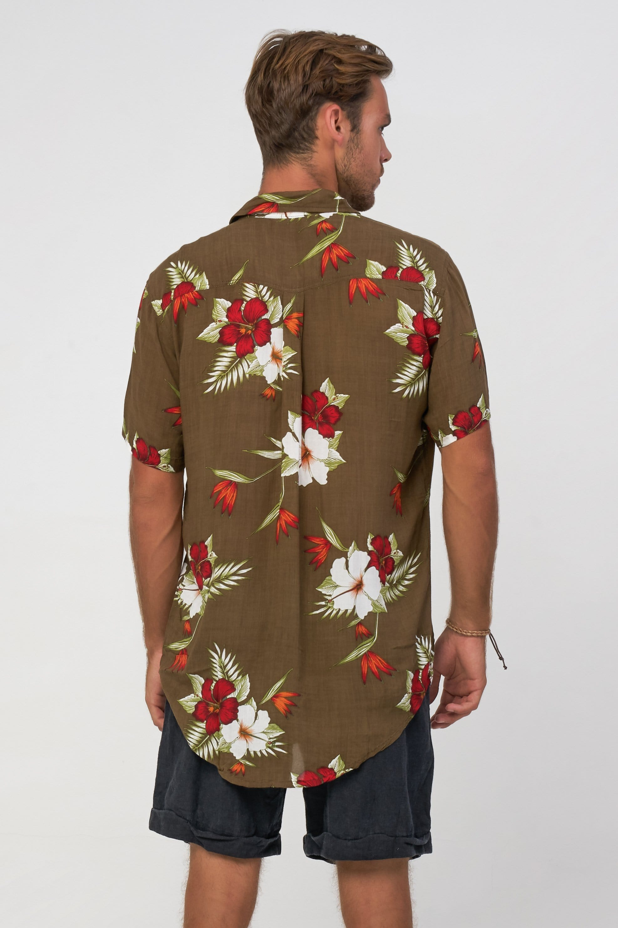 Hibiscus Shirt - Man Shirt - LOST IN PARADISE