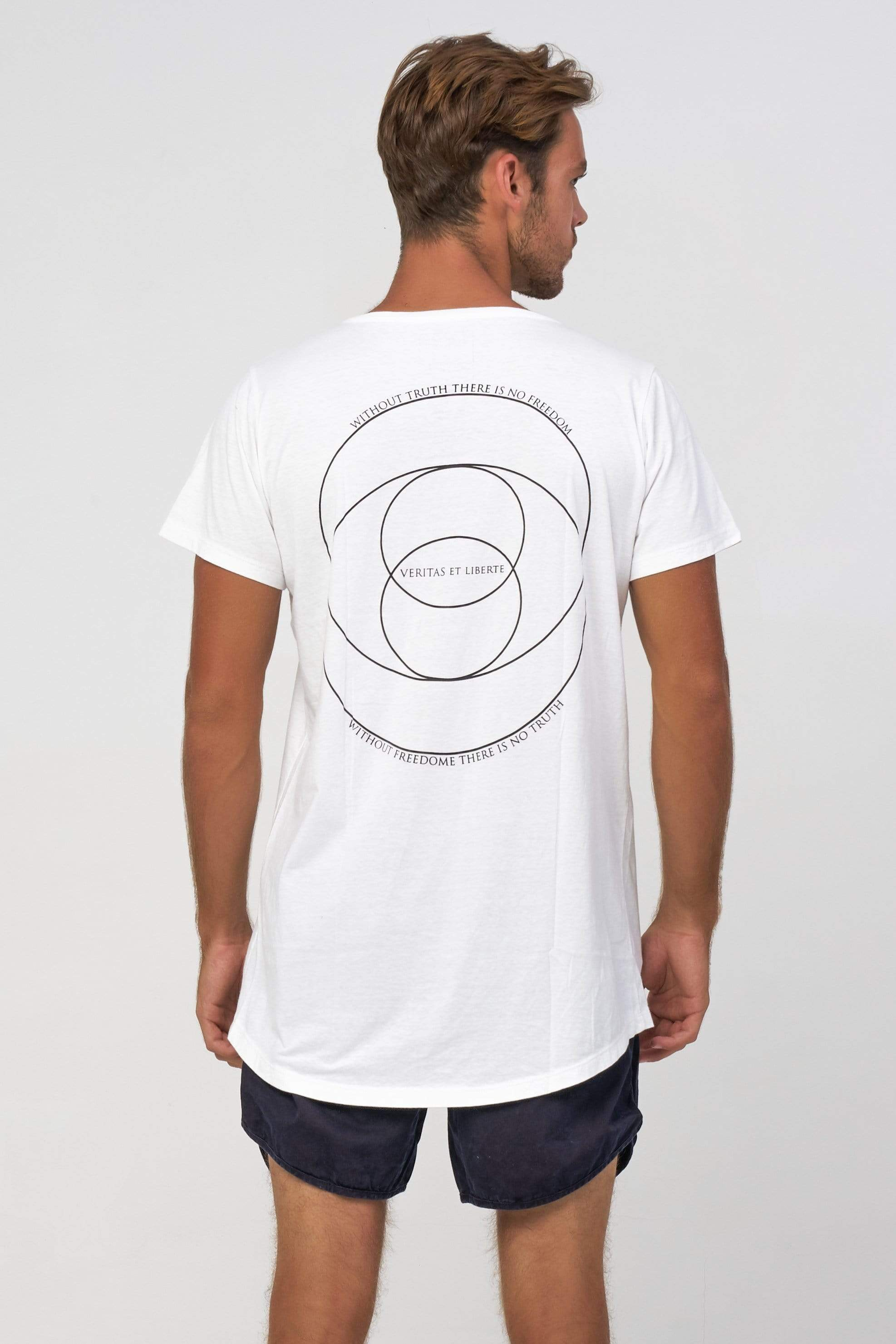 Lvt Golden Ratio - Man T-Shirt - VERITAS & LIBERTE
