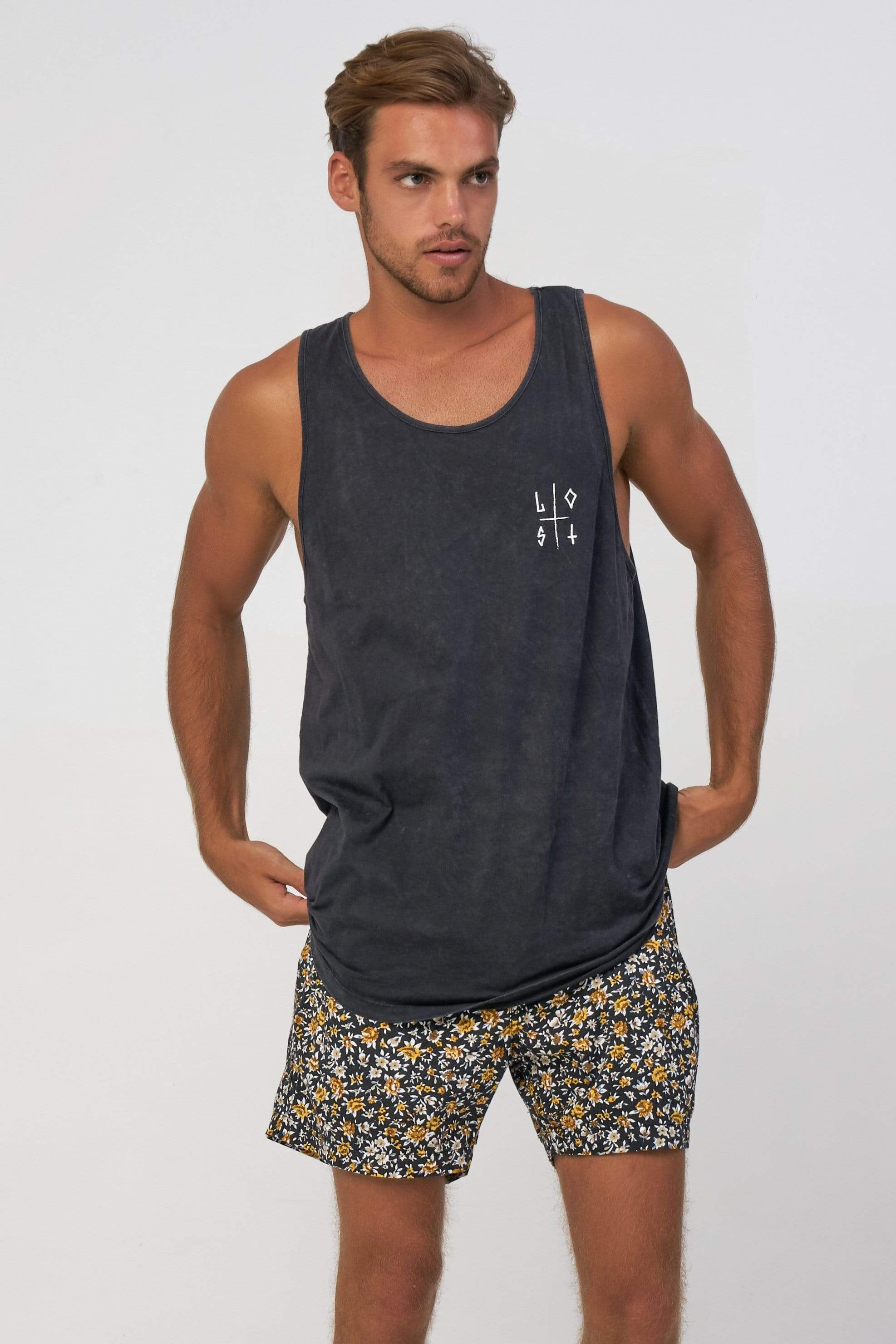 Sing Lost Retro - Man Singlet - LOST IN PARADISE