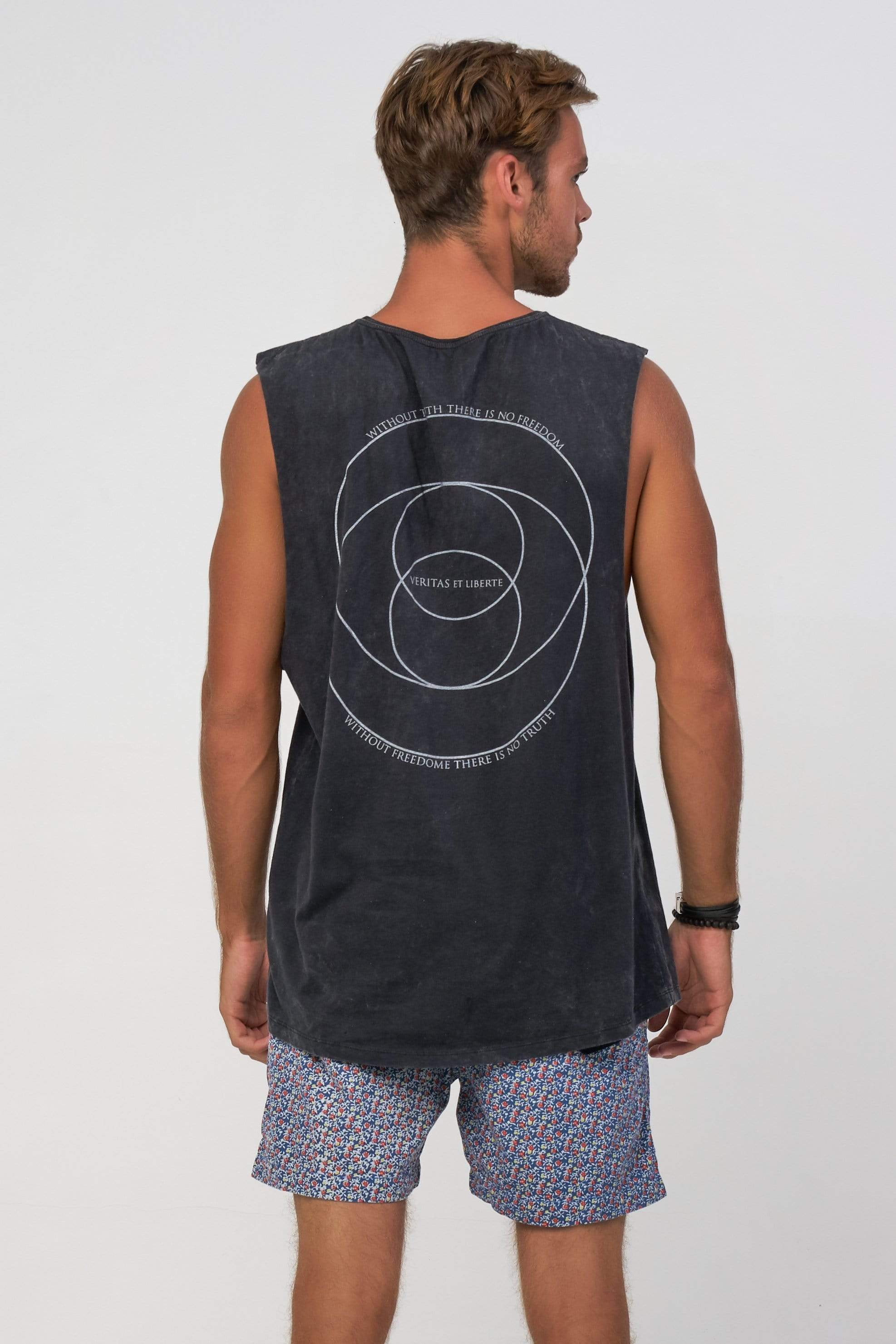 Lvm Golden Ratio - Mens Muscle Tank - VERITAS & LIBERTE