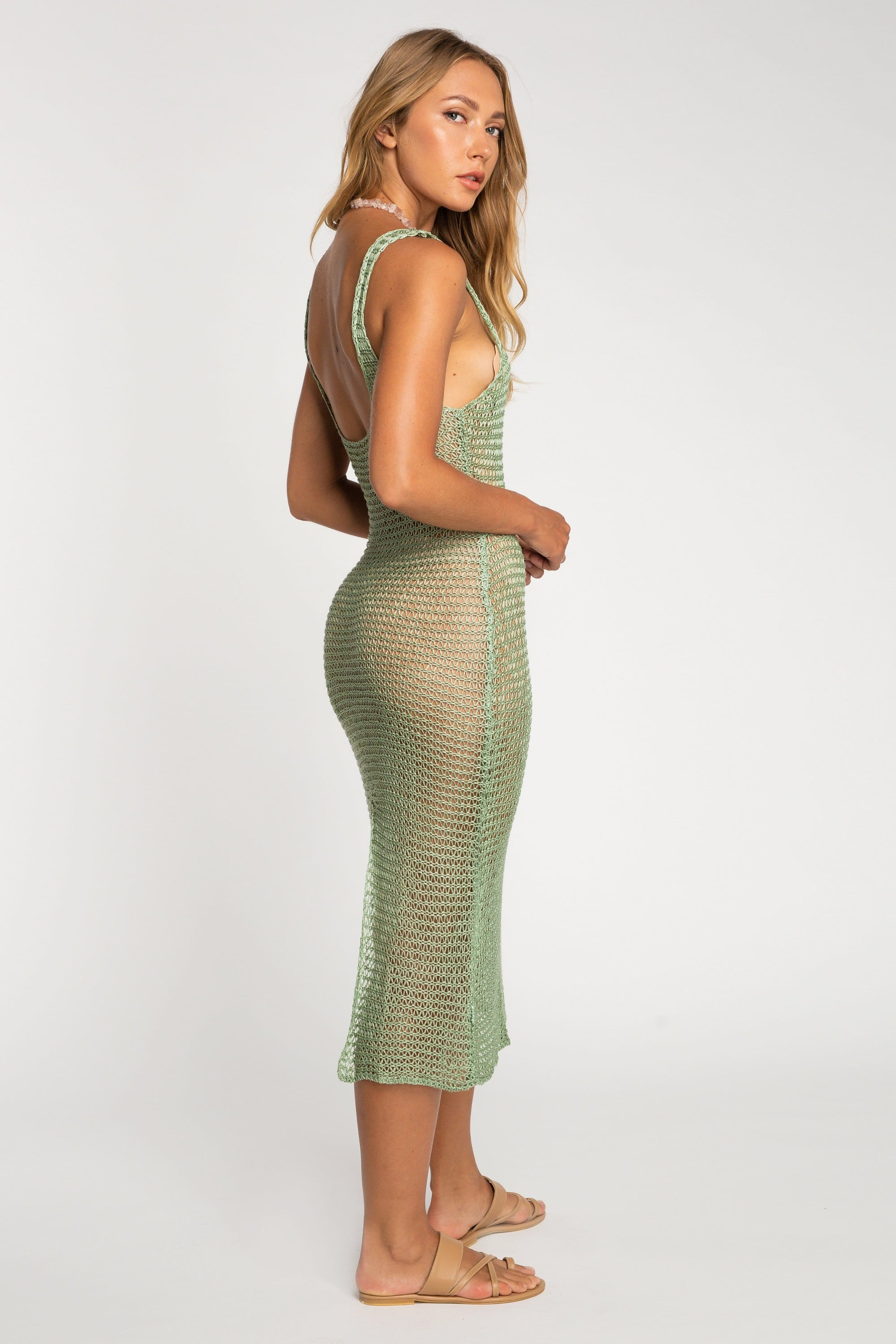 Karina Knit Dress - Dress - LOST IN PARADISE