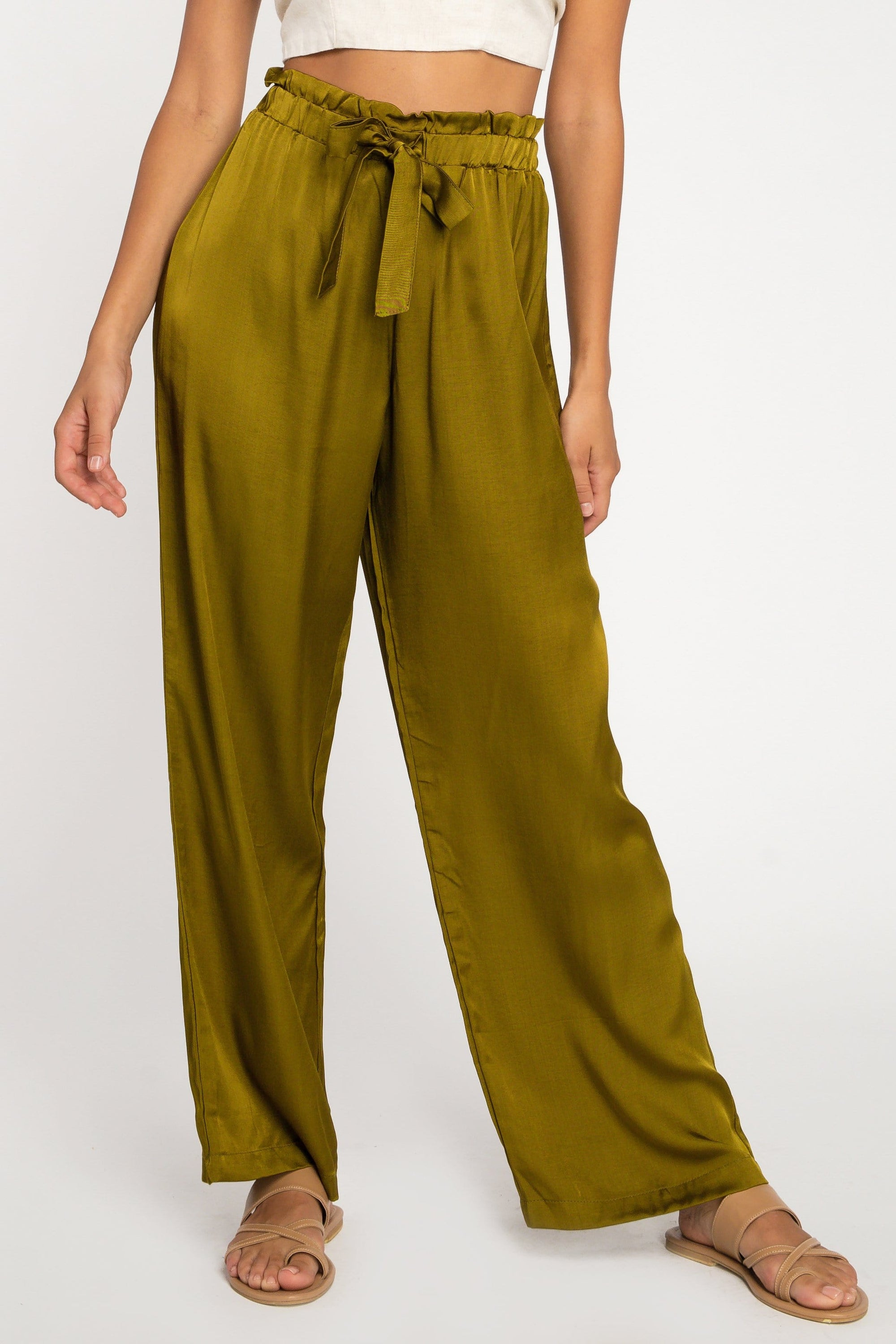 Benita Long Pant - Woman Pants - LOST IN PARADISE