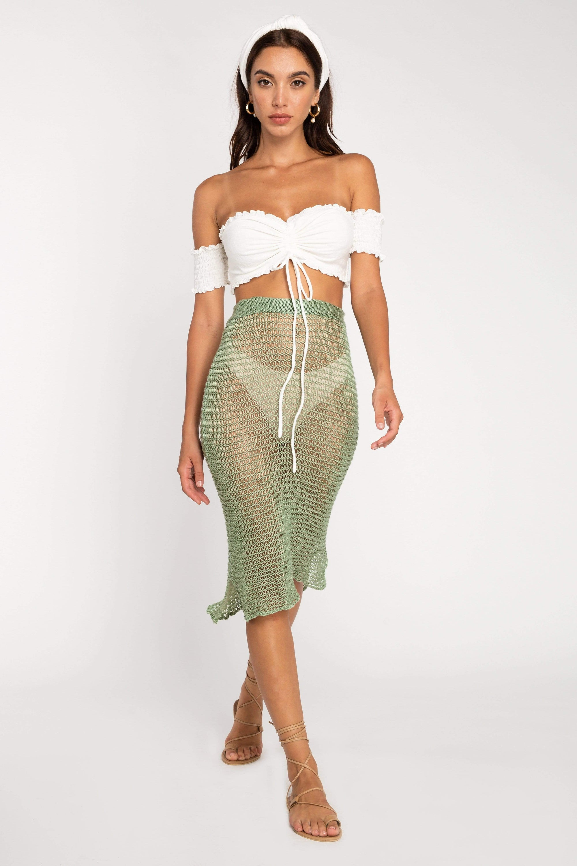 Tania Knit Skirt - Skirt - LOST IN PARADISE