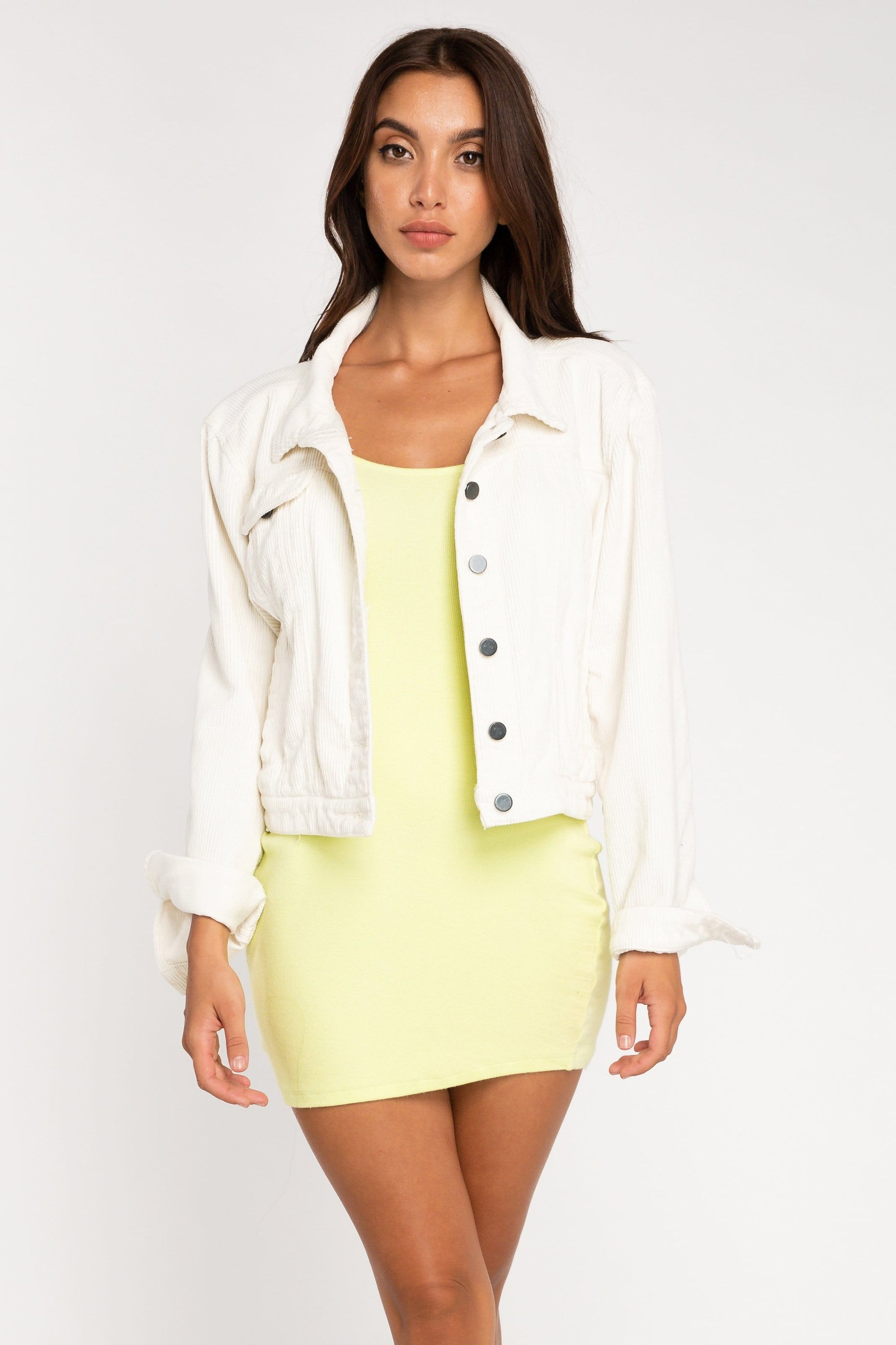 Beverly Cord Jacket - Woman Top - LOST IN PARADISE