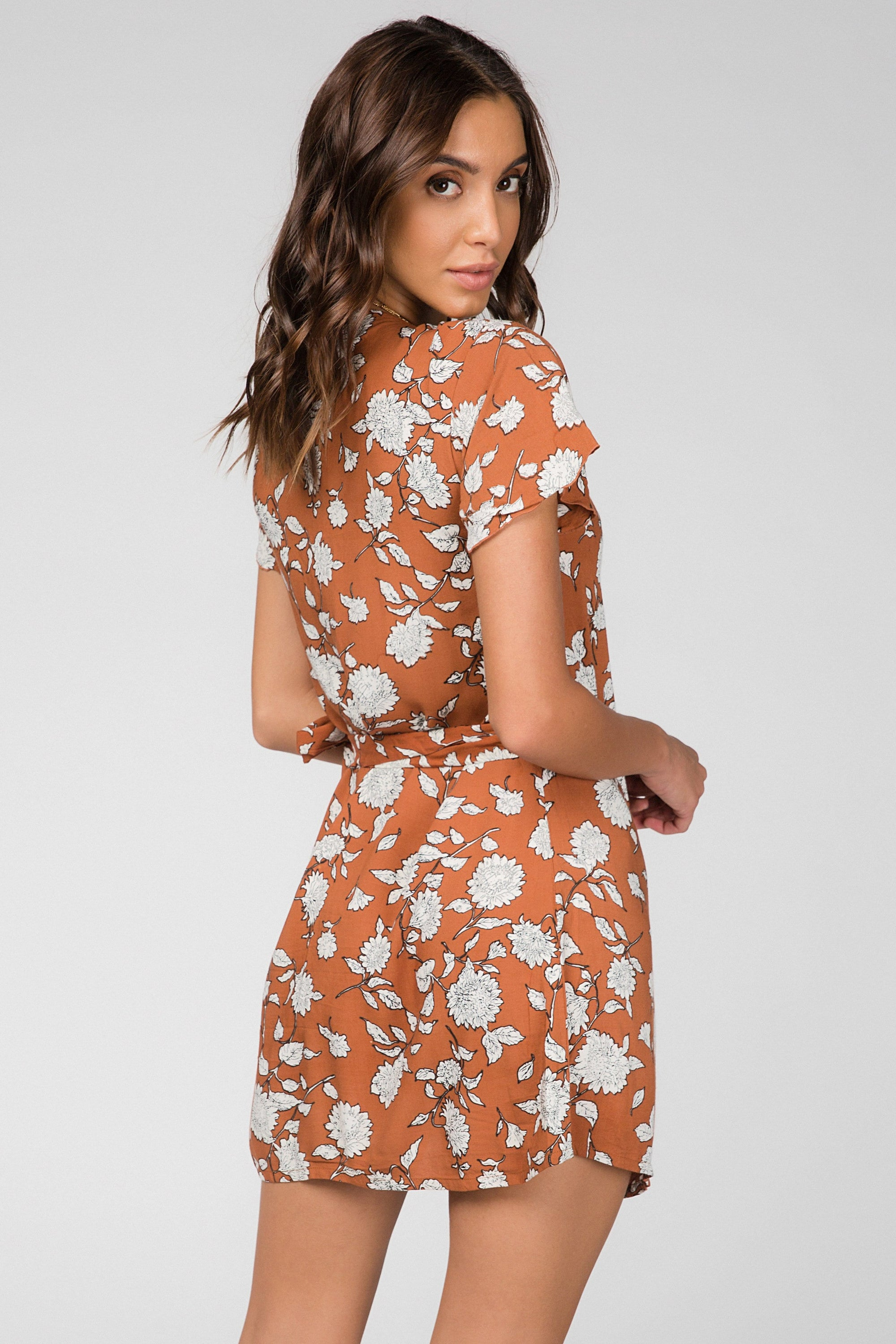 Laura Wrap Dress - Dress - LOST IN PARADISE