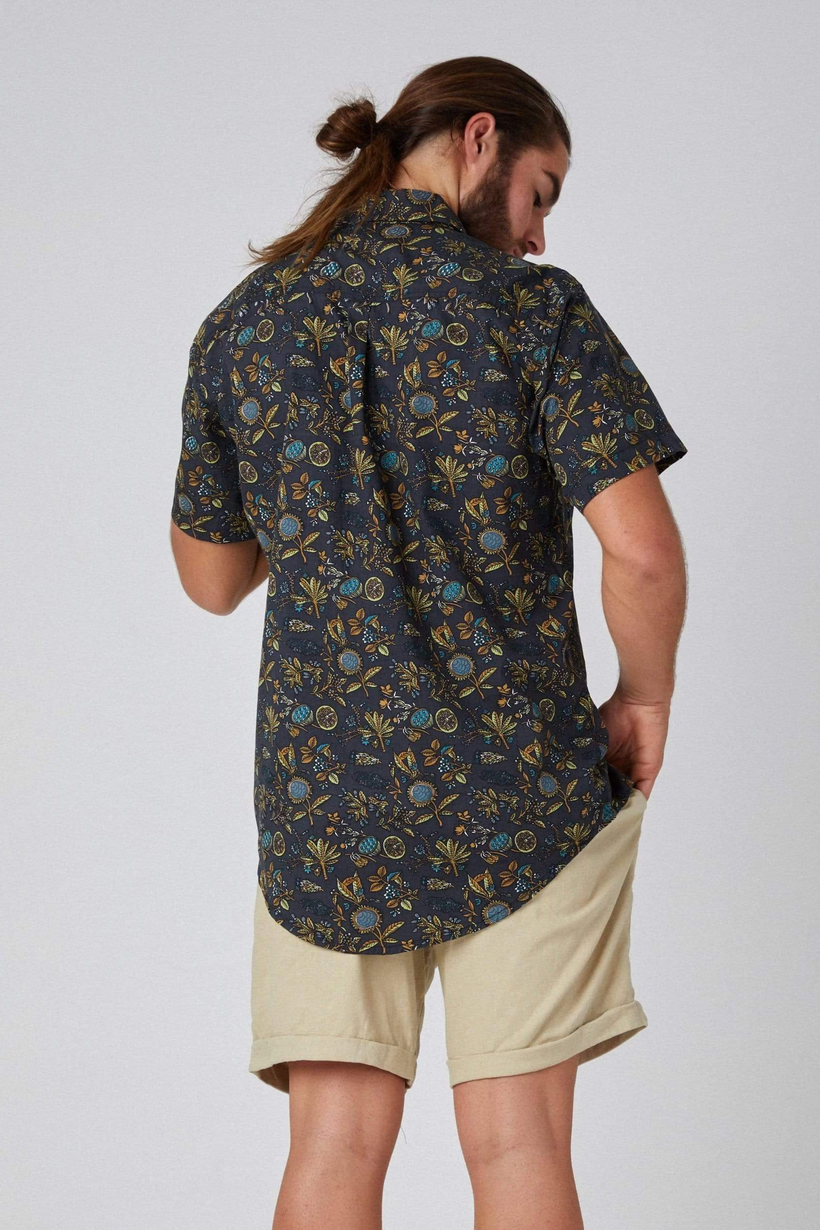 Lotus Shirt - Man Shirt - LOST IN PARADISE