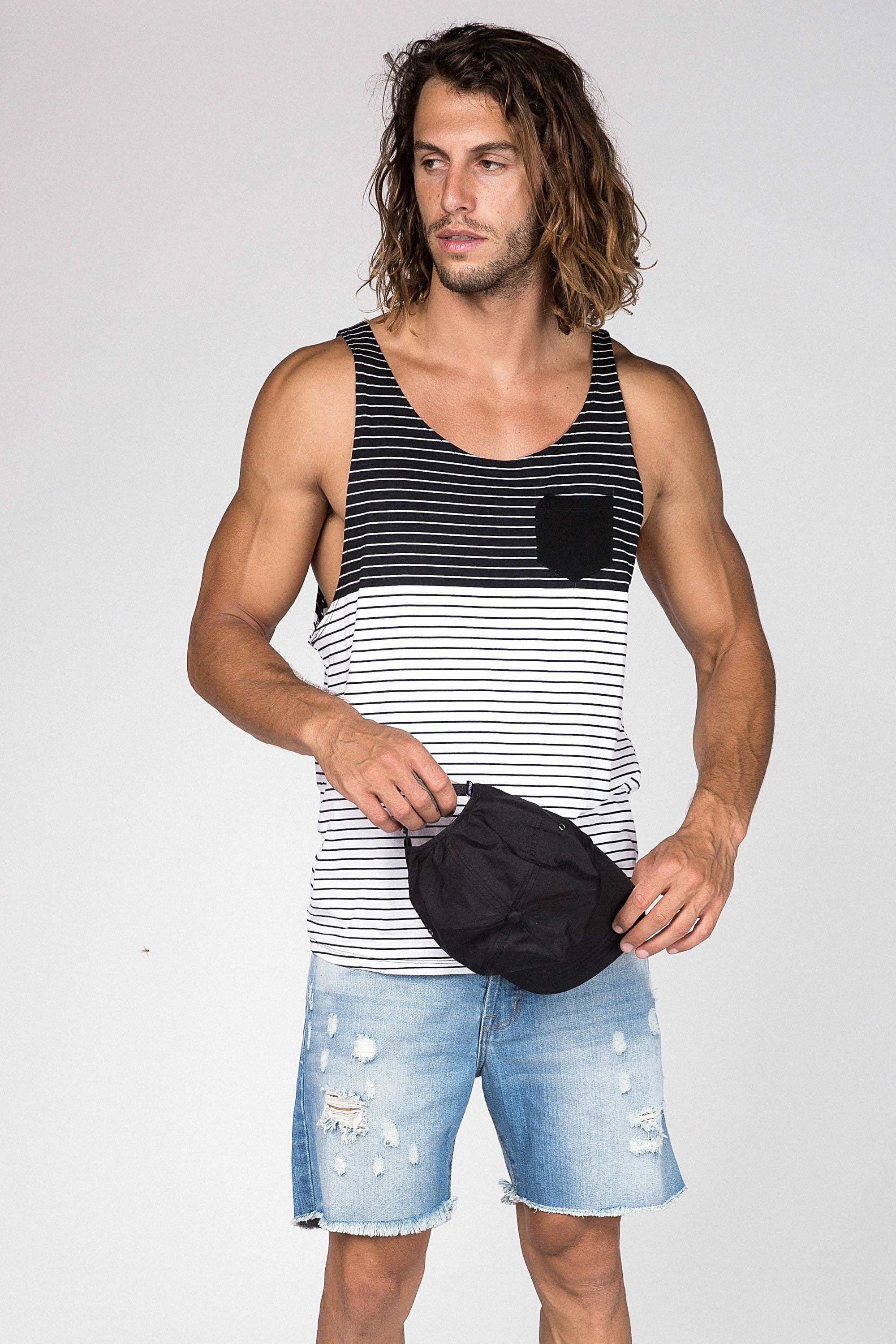 Invert Sing - Mens Muscle Tank - LOST IN PARADISE