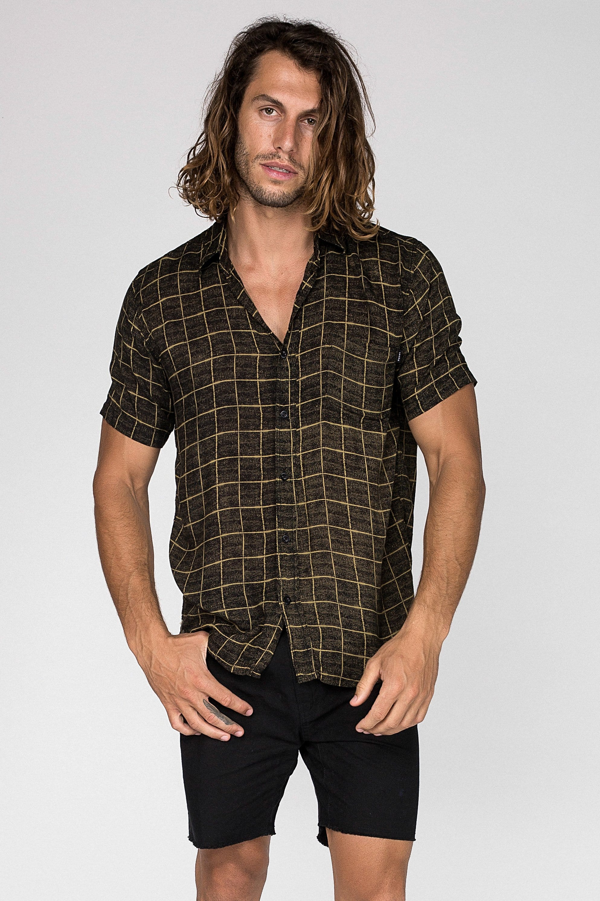 Point Square Shirt - Man Shirt - CITIZENS