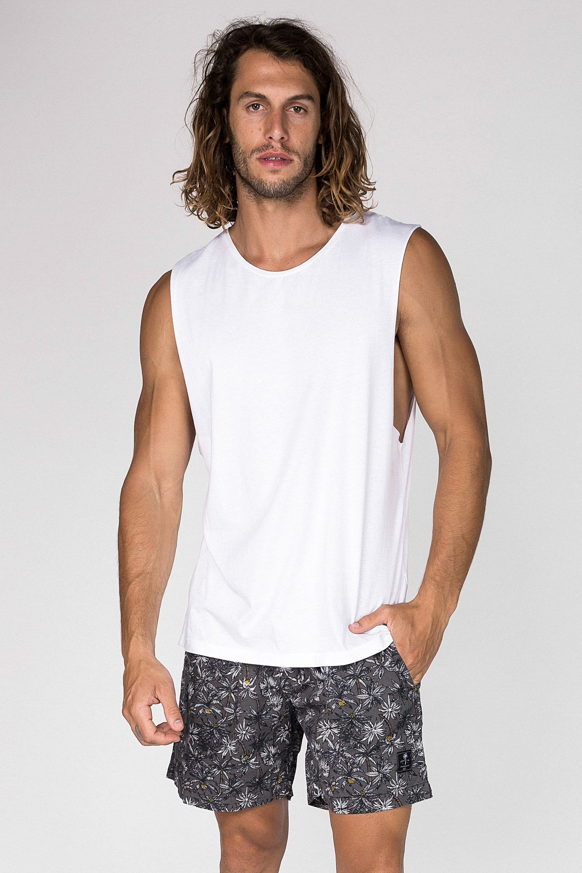 Sm Bali Paradise - Mens Muscle Tank - LOST IN PARADISE