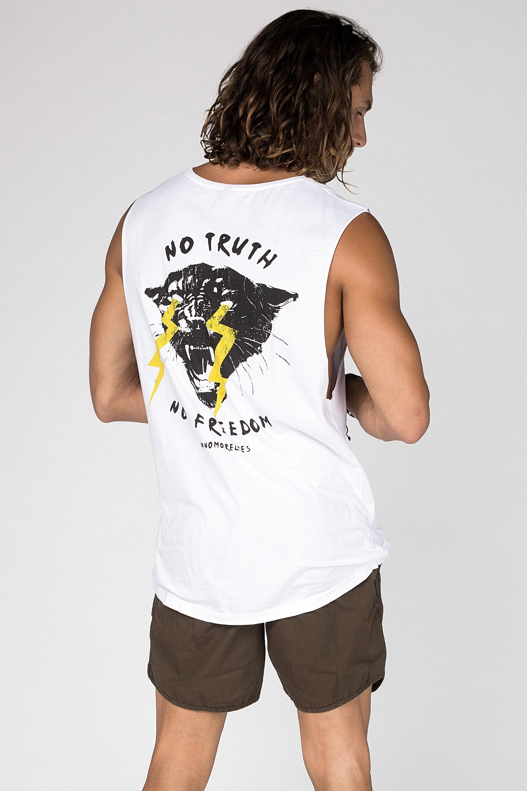 Sm No Truth No Freedom - Mens Muscle Tank - LOST IN PARADISE
