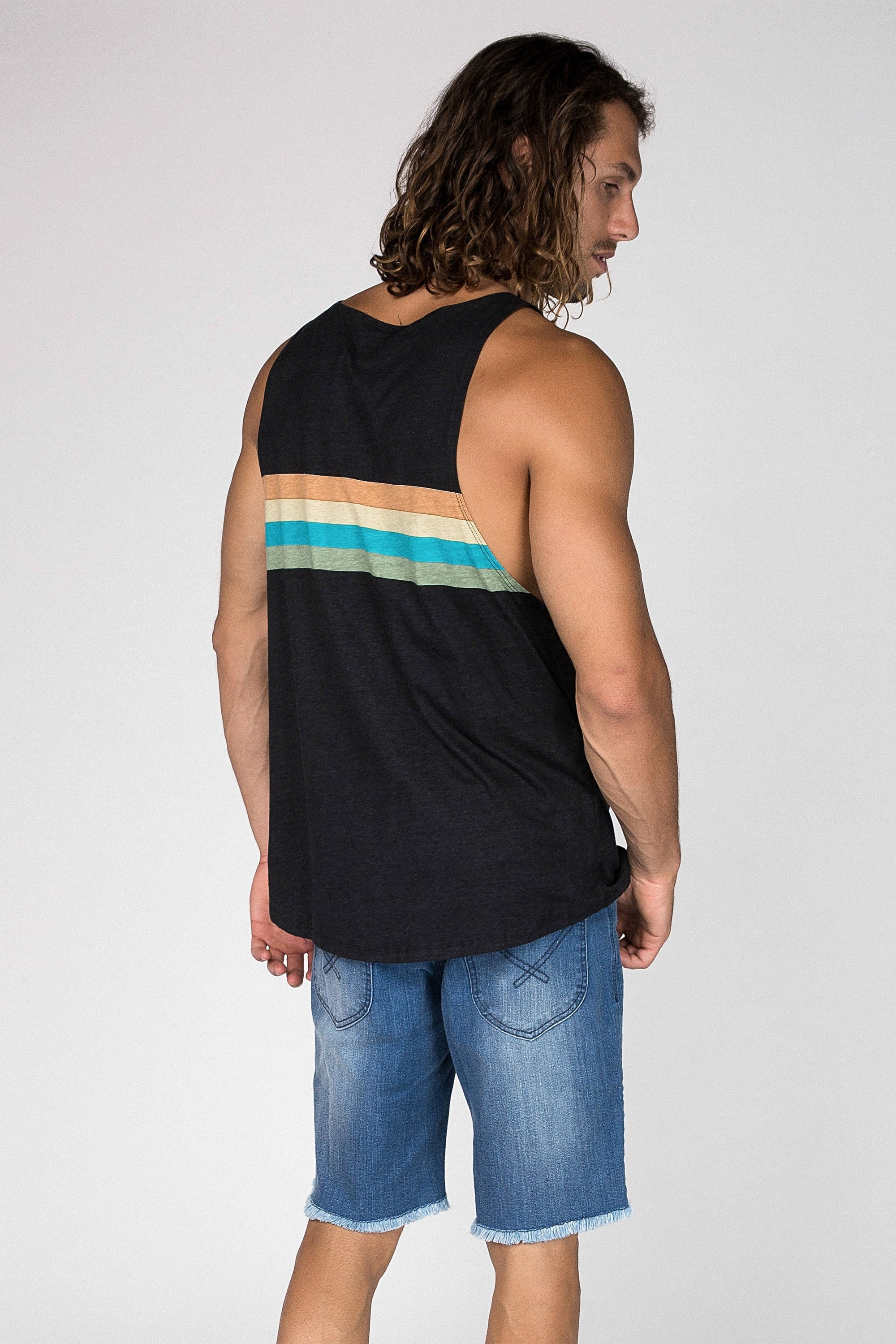 Graded Sing - Mens Muscle Tank - LOST IN PARADISE