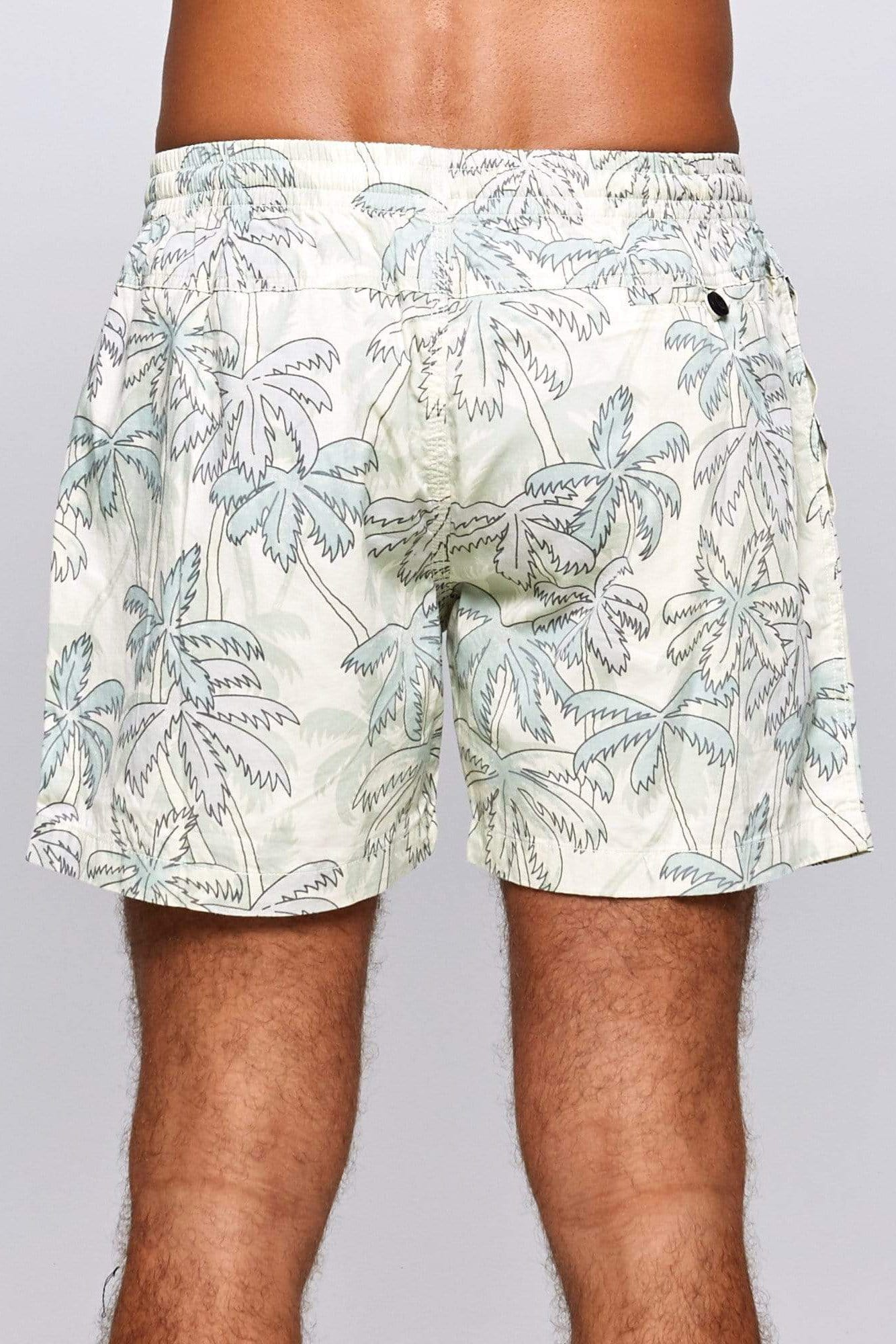 Retro Palm Short - Man Short - LOST IN PARADISE