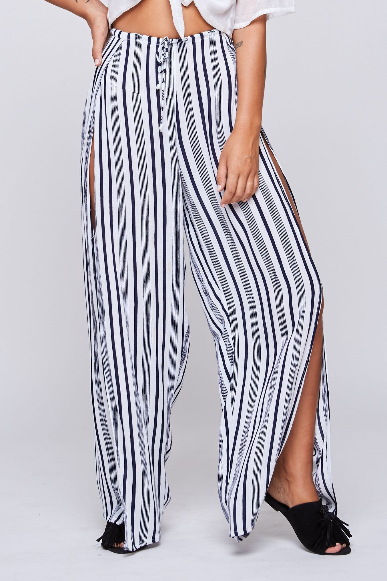 Riley Long Pants - Woman Pants - LOST IN PARADISE