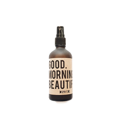 Front facing product shot of Good Morning Beautiful Aromatherapy Mist. Available for purchase on The Conservationist.
