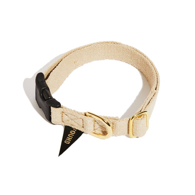 Hemp Dog Collar- Natural