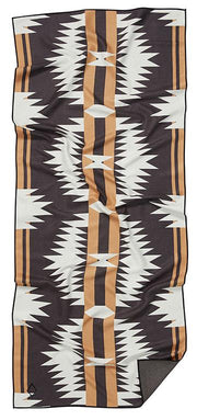 Front facing image of Northwest Nomadix eco-friendly beach towel. Available for purchase on The Conservationist.