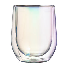Glass Stemless Prism (2 Pack)