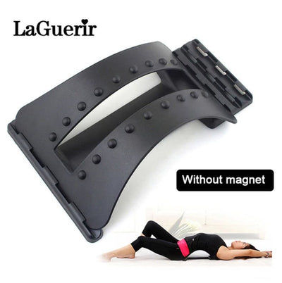 Back Massager - Lumbar Relief Back Stretcher