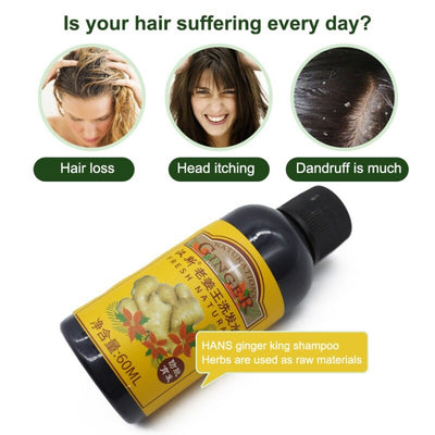 Hair Essential Oil - 7 Day  Hair Growth Essential Ginger Oil-Serum