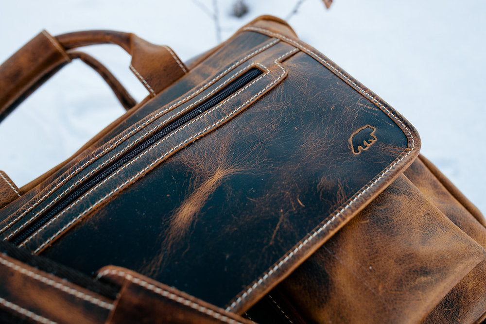 Buffalo Leather Pilot Bag