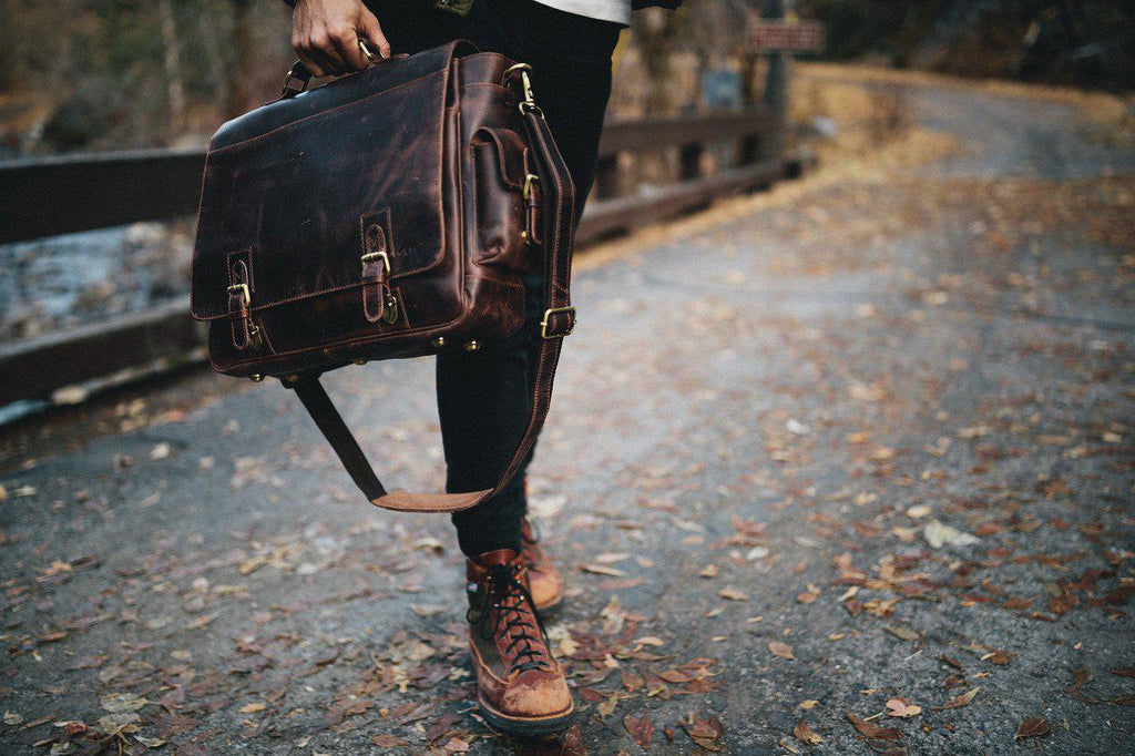 Sitka Leather Messenger