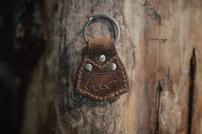 Kodiak Key Ring