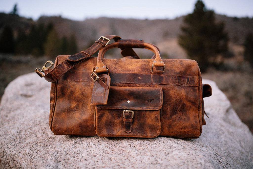 Kodiak Leather 60L Weekender Duffel